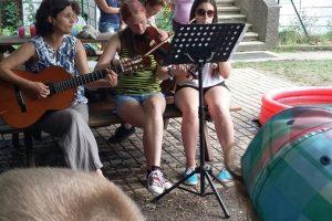 Musikalische Geschichte im Kindergarten