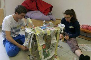 Häuser aus Papier
