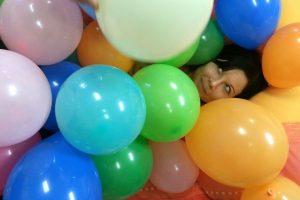 Ein Meer aus Luftballons in der 3KB