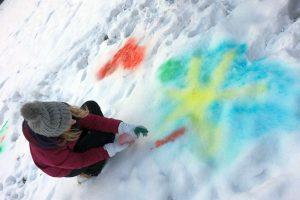 Psychomotorik im Schnee